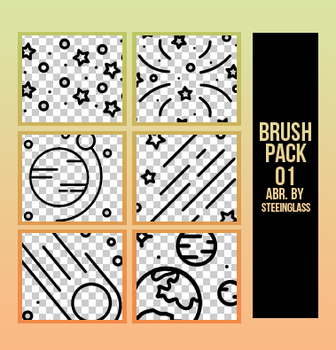 brushes x pack 01 by steeinglass