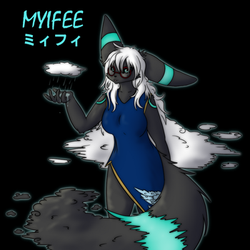 Myifee - Rain by Maverik-Soldier