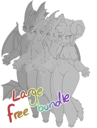 F2U Large Chibi Bundle by possxm