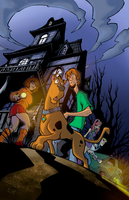 Scooby Doo COLORS by Brenofil