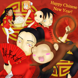 Year of the monkey by shinjuco