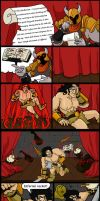 overlord bob: the barbarian p1 by imric1251