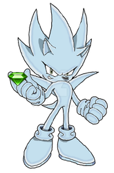 Nazo The Hedgehog by quotegamer