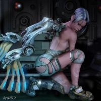 Mechanical angel by Aral3D