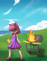 I  AM in charge of the BBQ by draneas