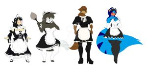 Maids of the century~ by Bluedibi