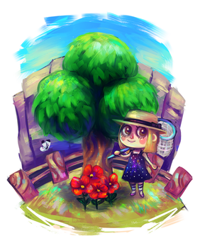 Animal crossing by Nasuki100