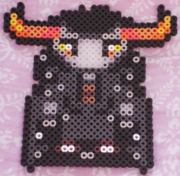Tavros Bead Knight by Blackshadowbutterfly