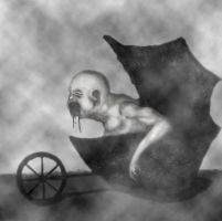 Nightmare Carriage by Pyramiddhead