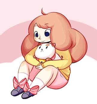 bee and puppycat by Frosti-Kat