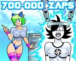 700,000 Zaps by curtsibling