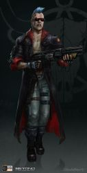 Shotgun_Rebel_01 by zombie-ninja