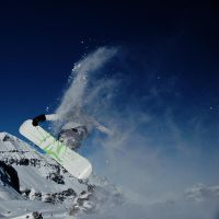 snowboard jumper by indieaner
