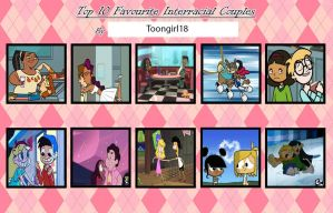 My Top 10 Favorite Interracial Couples by Toongirl18