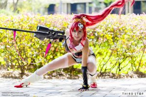 Yoko in action by Official-AmyFantasy
