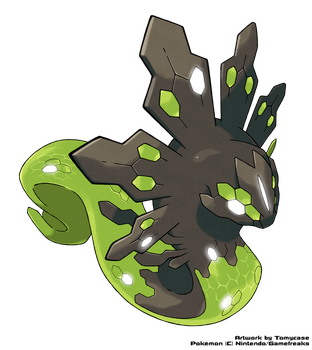Zygarde 50% by Tomycase