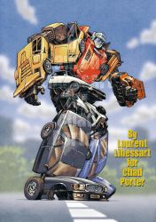 Gobots Puzzler -commission- by a-loft-on-cybertron