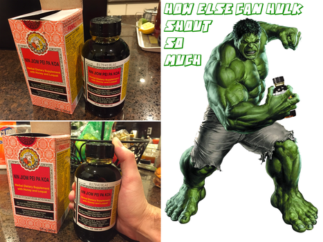 My Own Hulk Medicine by TroytheDinosaur