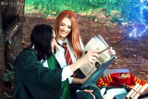Lily Evans, Severus Snape and astronomy by Lilta-photo