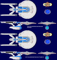 Enterprise-class variants by Gundam1701