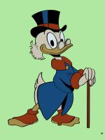 Uncle Scrooge by MCRE1201
