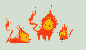 Flambits by MelNathea