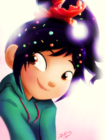 Vanellope (lineless) by heeyjayp17