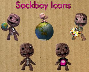 Sackboy Icons by shiftercat