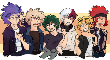 Boku no hero Academia !!! by silly-sweetness