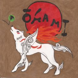Okami Den Fan Art by artcat15