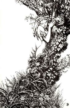 Old Manthing piece for Marvel by LiamSharp