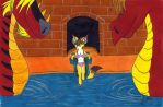In the Dragon's Pool by Fox-under-the-stars