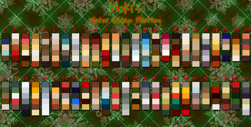 Holiday Palettes by Mokisaur