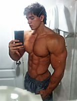 Baby Face- Beefy Body by builtbytallsteve