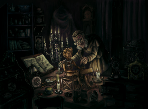 Mad Clockmaker - colored version by MadocaArt
