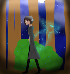 The Fear Of The Full Moon| Contest Entry | by U-M-I-E-2-7