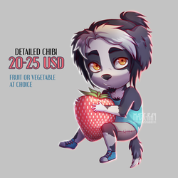 Fruit-Vegetable Chibis - OPEN - 3 slots left! by Magic-Ray