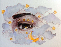Cloudy Eye by chronojessicapple