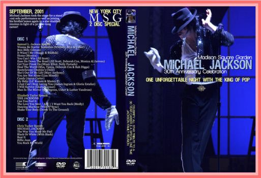 MSG MJ - 30th Anniversary by theriverjordan