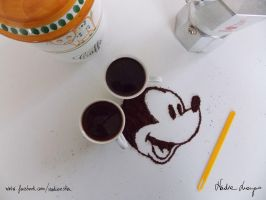 Mickey Mouse by NadienSka
