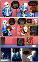 Reminiscence: Undertale Fan Comic Pg 3 by Smudgeandfrank