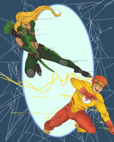 Wally and Artemis by mebellis