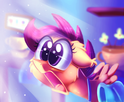 Scootaface by thediscorded