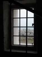 00065 - Old Window with Lock by emstock