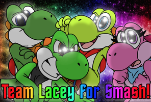 Team Lacey for Smash! by YoshiStar01
