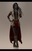 Dunmer_commission by VictoriaDAEDRA