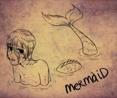 mermaid - day 5 by mosuga