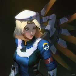Uprising Mercy by raikoart