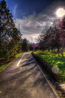 Park alley HDR 1 by vaiperu