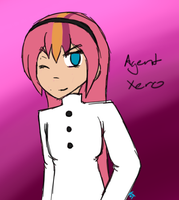 Request - Agent Xero by YamiDawn33
